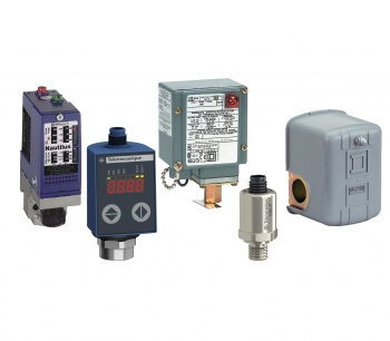 Telemecanique Sensors and Square D brand Pressure Sensors and Switches.
