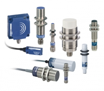 Inductive and Capacitive proximity sensors from Telemecanique Sensors
