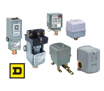 NEMA Square D brand pressure, vacuum, and float switches